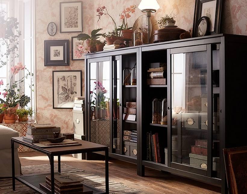 Giữ một thư viện nhà trong phòng khách