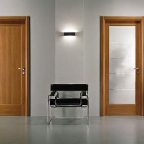 portes d'entrée en bois idées idées
