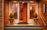 options d'idées de portes d'entrée en bois