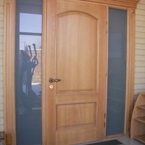 options de portes d'entrée en bois