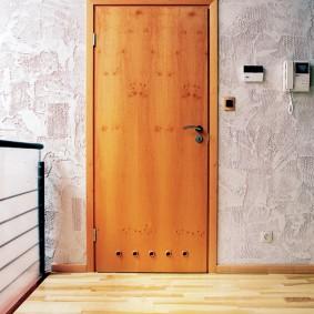 portes d'entrée en bois sortes d'idées