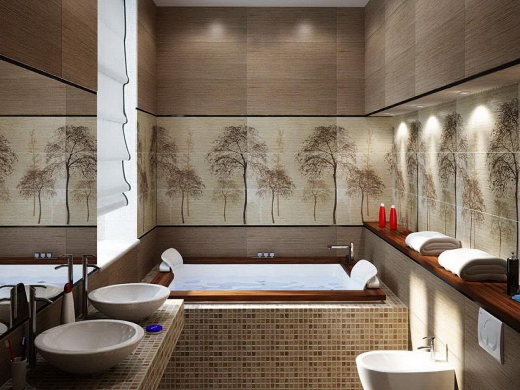 idées de salle de bain japonaise