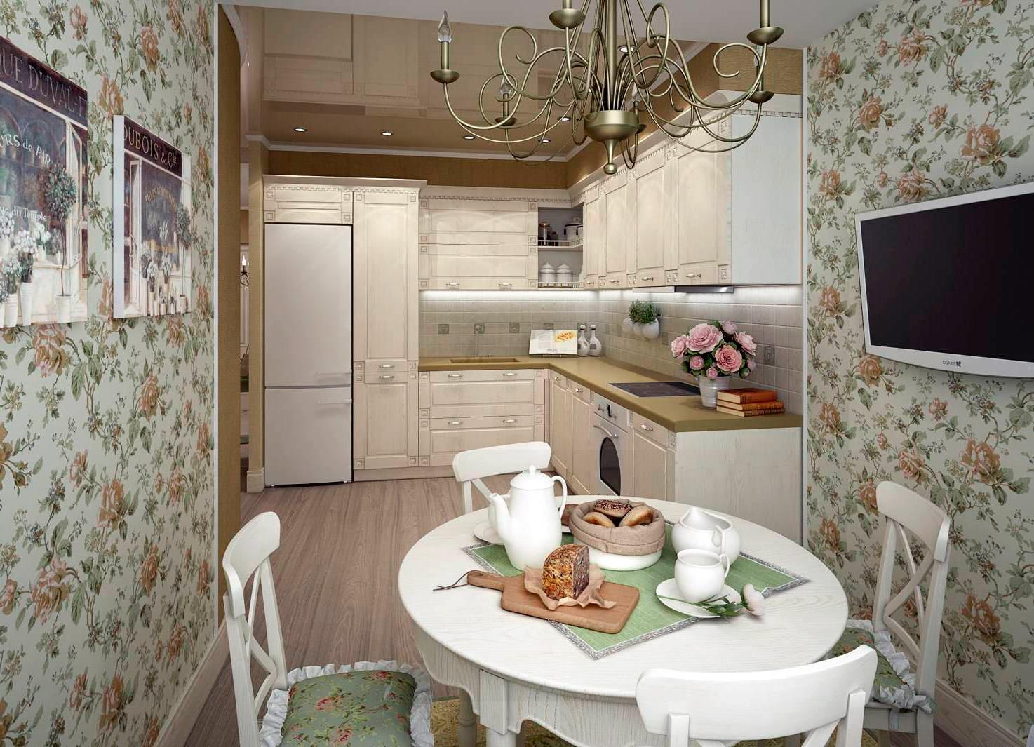 Photo de cuisine de style provençal