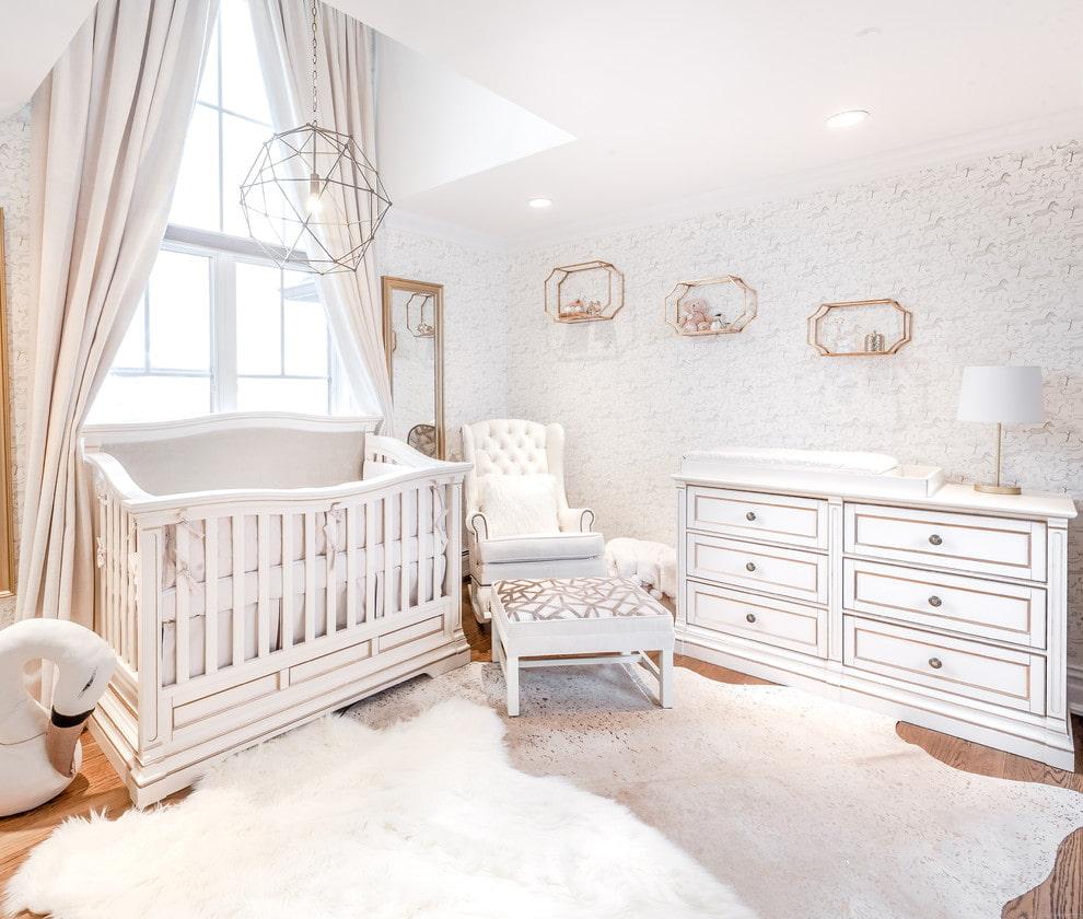 Chambre lumineuse pour un petit enfant