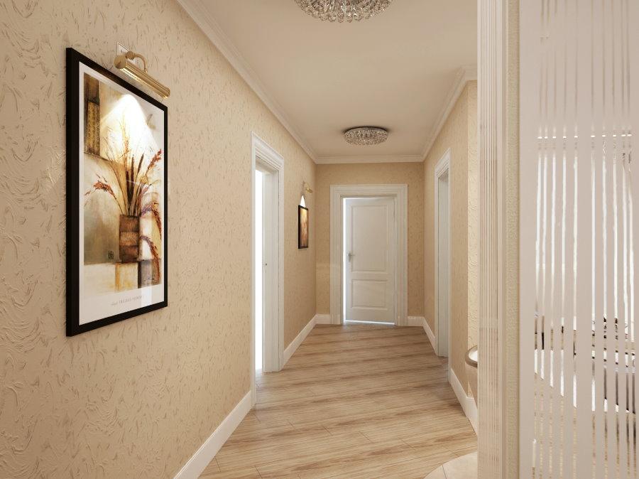 Décorer le couloir avec du papier peint en vinyle