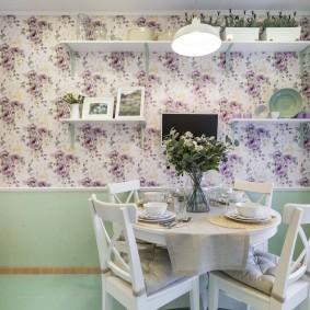 décoration murale dans la cuisine
