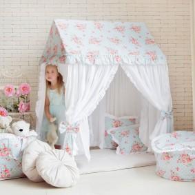 photo de maison de jeux pour enfants