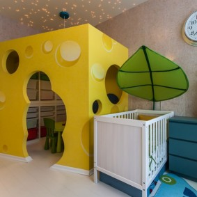 décor de maisonnette pour enfants