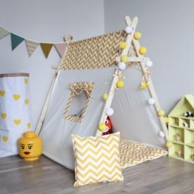 les enfants jouent des idées de décoration de maison