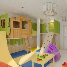 idées de décoration de cabane pour enfants