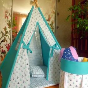 cabane pour enfants photo d'intérieur