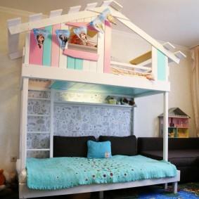 idées d'intérieur de cabane pour enfants