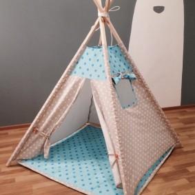 cabane pour enfants idées intérieur