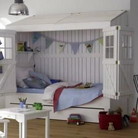 maison de jeux pour enfants