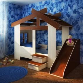 sortes de cabane pour enfants