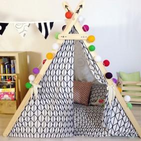 cabane pour enfants photo espèces