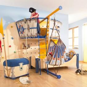 décor de maisons de jeux pour enfants