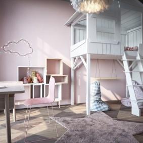 conception de photo de cabane pour enfants