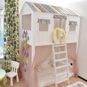 les enfants jouent des idées de conception de maison