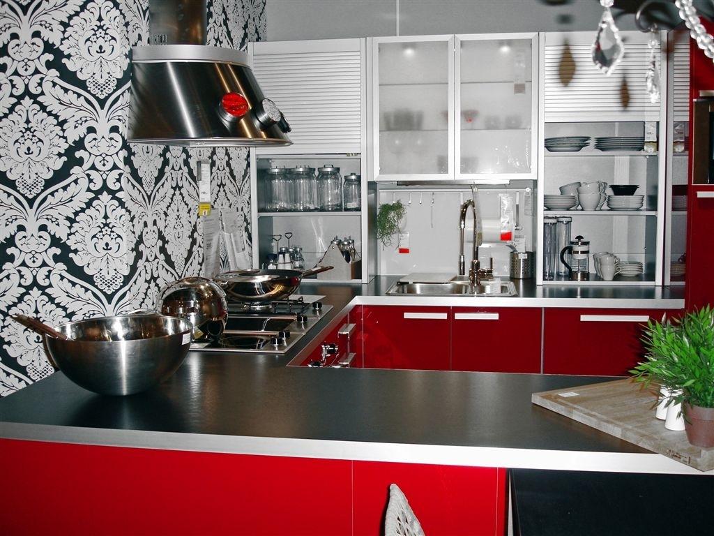 conception de papier peint pour la cuisine