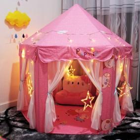 maison pour tente filles