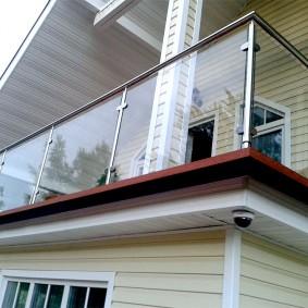 Écrans en verre de balustrade de balcon