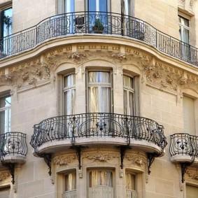 Balcons classiques