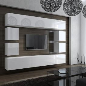 Mur modulaire symétrique