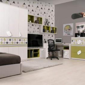 Conception d'une chambre d'ado avec mobilier modulable