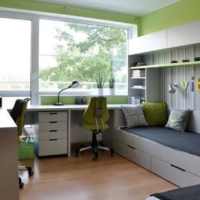 Design moderne d'une chambre d'enfant