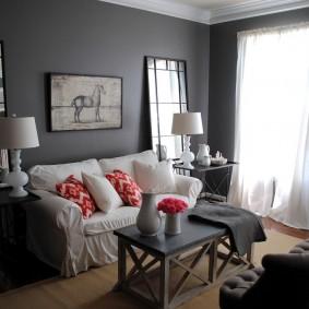 Chambre confortable dans une maison en panneaux