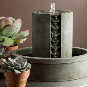 Fontaine de table minimaliste