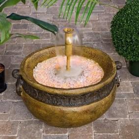 Mini fontaine à l'ancienne