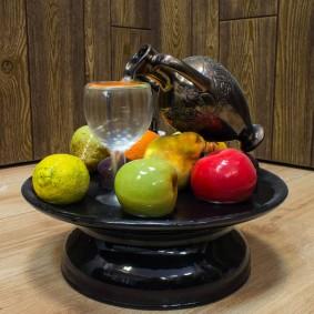 Pommes vertes en matériau polymère