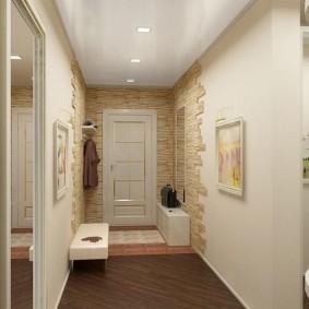 Zonage du couloir du plancher