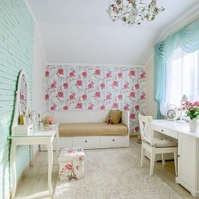 Chambre pour une fille dans un appartement en ville