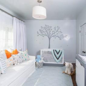 Chambre lumineuse pour votre enfant bien-aimé