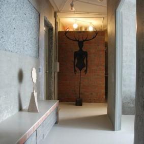 Décor de couloir Art Nouveau