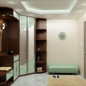 Meubles d'armoire pour un hall d'entrée moderne