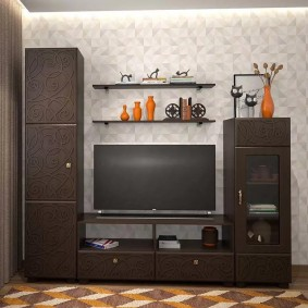 Petit mur pour un petit salon