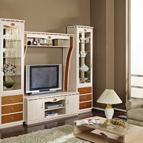 Mobilier compact pour un petit salon