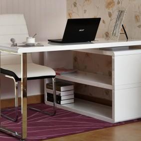 Table pliante pour un bureau