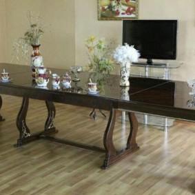 Plateau de table long