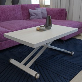 Canapé d'angle avec revêtement en velours