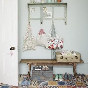 Carrelage en céramique de style patchwork