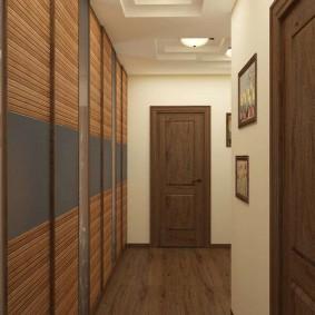 Concevez un petit couloir dans un style moderne
