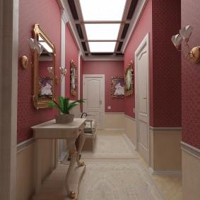Beau couloir de style classique