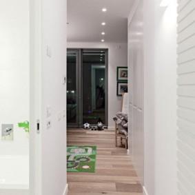 Intérieur solide d'un petit couloir