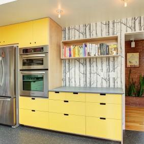 fond d'écran photo à l'intérieur de la cuisine