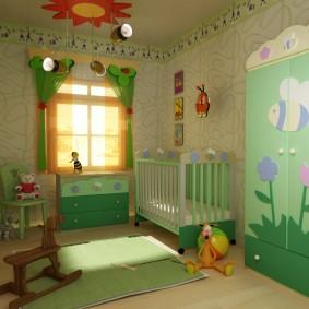 situé dans les idées de décoration de la chambre des enfants